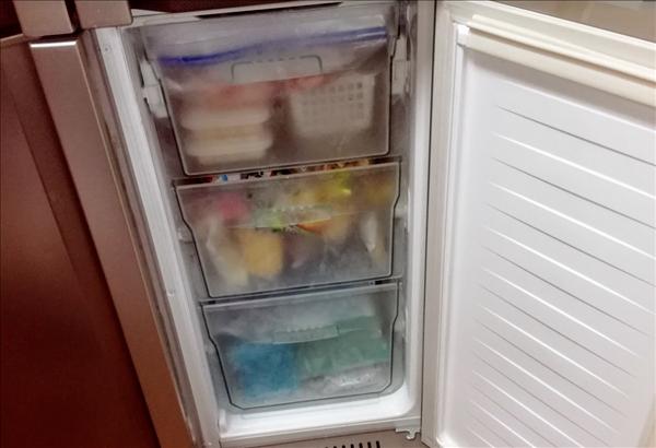 断捨離,冷凍庫の写真