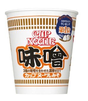 日清カップヌードル味噌